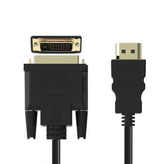 High Speed HDMI to DVI 24+1 Pin Adapter Gold plated Male to male Cable For 1080P HD HDTV HD PC XBOX 1.8M