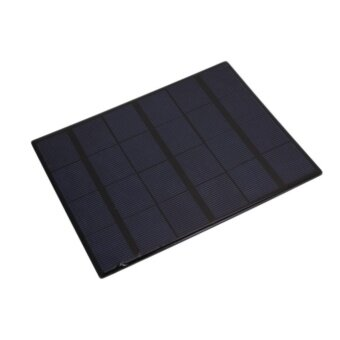High Tech 6V 3W 580-600MA Solar Power Battery Charging PanelCharger For Mobile Cell Phone