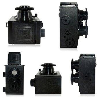 Harga HKS Classic Twin Lens Reflex TLR 35mm Holga Lomo Camera Kit