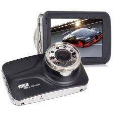 HLT กล้องติดรถยนต์ รุ่น T800 (Night Vision) Full HD 1080P Lens Wide 170 องศา WDR จอ LCD 3 นิ้ว อินฟาเรด 9 ดวง