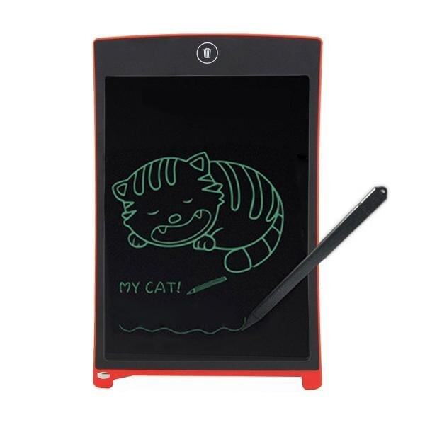 Howshow 8.5 Inch LCD Pressure Sensing E-Note Paperless Writing Tablet / Writing Board (Red) - intl