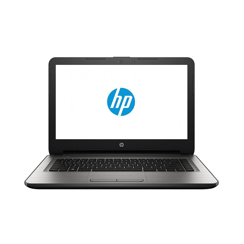 "HP แล็ปท็อป รุ่น 14-am048TX THAIi3-6006U14""4GB1TBR5M130 2GBFreedosODD DVDSM 9.5 Tray acB (สีเงิน)"