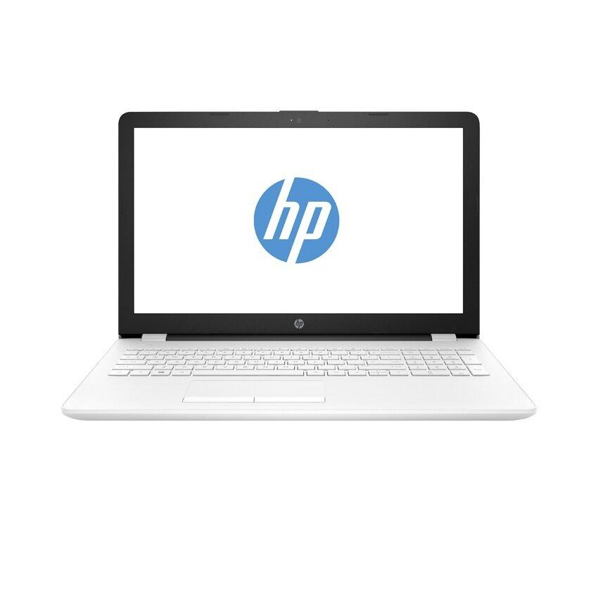 HP แล็ปท็อป รุ่น 15-bs016TX i5-7200U 4G 1T AMD530(4) Dos (สีขาว)