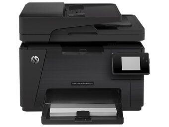 HP Color LJ Pro 100 M177fw รุ่น CZ165A - Black