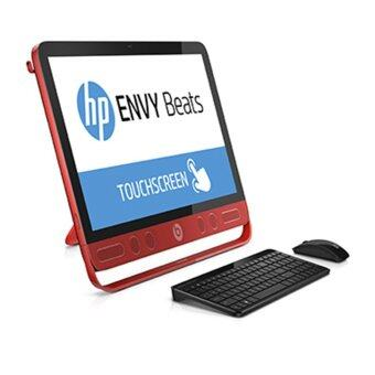 HP Envy TouchSmart 23-n200d AIO Beat Edition - Red