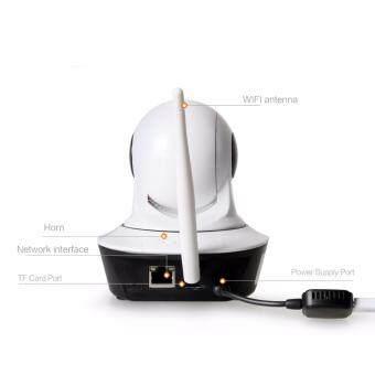 HUATAIAN กล้องวงจร ปิด IP Camera 1.0MP Support 128GB รุ่นHTA-S32B10 (สีขาว) - 4