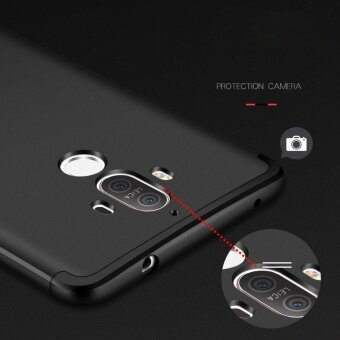 Huawei Mate 9 case , Mooncase Frosted Armor Hard PC Back Cover 360Full Body Shockproof Protective with 3 Detachable Parts Phone Case(As Shown) - intl - 2