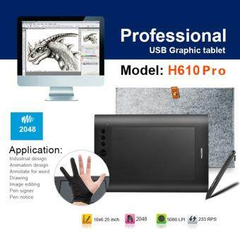 ประกาศขาย Huion อุปกรณ์วาดภาพ H610 Pro USB Animation Digitizer GraphicsDrawing Tablet WIn Mac