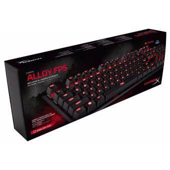 HyperX คีย์บอร์ด KEYBOARD Kingtons HyperX Alloy FPS Mechanical Gaming Cherry MX Blue(HX-KB1BL-NA/A3)