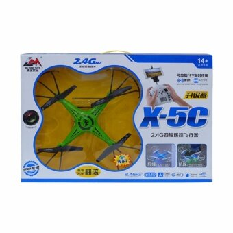 I-SAY BO MING TOYS M29 Quadcopter Drone 2.4Ghz รุ่น X5C (Blue)