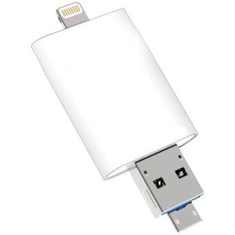 iDrive 64GB for iPhone5/6/6+/iPad+Sumsung (White) - 2