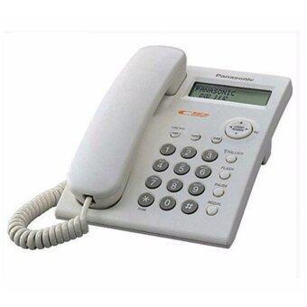 โทรศัพท์บ้านสายเดี่ยว Panasonic รุ่น KX-TSC11 สีขาว
