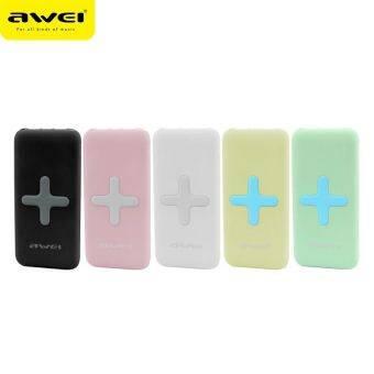 Awei P98K 7000mAh เพาเวอร แบงค์ ไร้สาย Wireless Charging&Power Bank - White