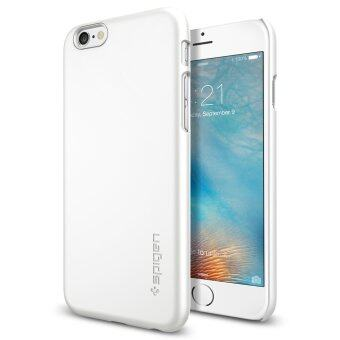 SPIGEN Apple เคส iPhone 6s Plus Case Thin Fit : Shimmery White