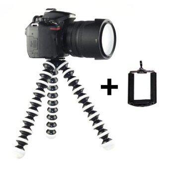 ขาตั้งกล้อง ขาตั้งมือถือ หนวดปลาหมึก Gorillapod Flexible Tripod Octopus tripod (Size L)(Black)