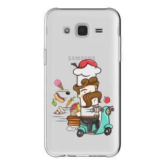 AFTERSHOCK TPU เคส Samsung Galaxy J2 Primeเคสโทรศัพท์พิมพ์ลาย Chef เนื้อบาง 0.33 mm