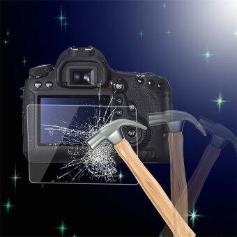 Harga OH Tempered Glass Camera LCD Screen HD Protector Cover for Canon 6D Transparent