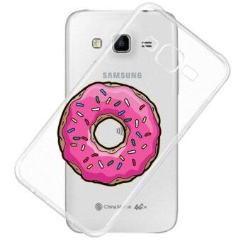 AFTERSHOCK TPU Case Samsung Galaxy J2 2016 (เคสใสพิมพ์ลาย Donut 2) / Thin 0.33 mm