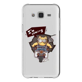 AFTERSHOCK TPU เคส Samsung Galaxy J5 2015 เคสโทรศัพท์พิมพ์ลาย I'm coming เนื้อบาง 0.33 mm