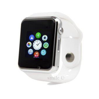 smile C นาฬิกาโทรศัพท์ Smart Watch รุ่น A1 Phone Watch (White)