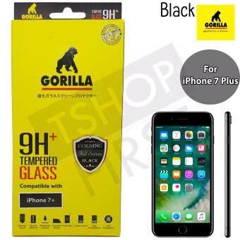 Gorilla Corning Tempered Glass กอริล่า ฟิล์มกระจกนิรภัยเต็มหน้าจอ For iPhone 7 Plus