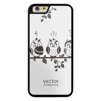Harga Phone case for iPhone 6Plus/6sPlus owl (3) cover for Apple iPhone 6 Plus / 6s Plus - intl