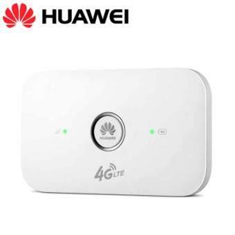 Huawei E5573 white 4G Pocket WiFi Router mobile wifi ใช้ได้กับ แอร์การ์ด โมบายไวไฟ ไวไฟพกพา