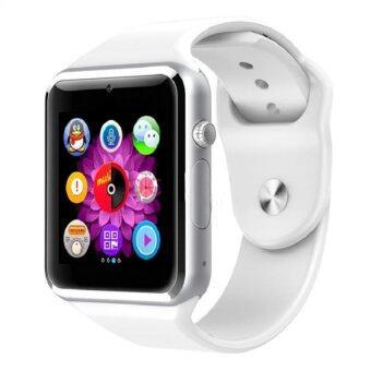 KS smart watch นาฬิกาโทรศัพท์ บลูทูธ ถ่ายรูป รุ่นA1 (สีขาว)