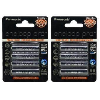 Eneloop ถ่านชาร์จ Panasonic Eneloop AA 2500 mAh (8 ก้อน)