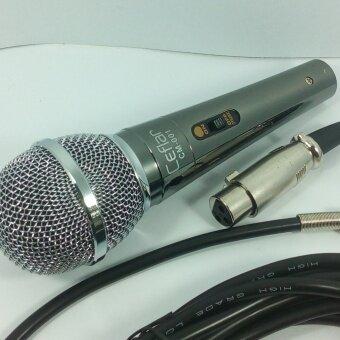 Ceflar ไมโครโฟนสาย สำหรับมืออาชีพ รุ่น CM-001 สีเงิน