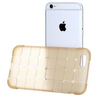 Phone Case เคส iPhone 6 ซิลิโคน Keyboard Gold Clear (สีทอง)