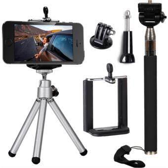 iremax ไม้เซลฟี่ ขาตั้งกล้อง สำหรับ Gopro Hero Cameras iPhone 5S