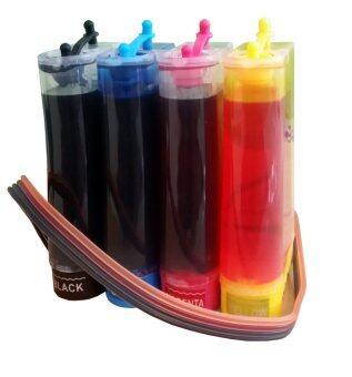 Modify ink ชุด Ink Tank สำหรับเครื่อง Canon 4สี ทุกรุ่น ( พร้อมหมึก )