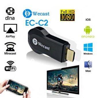 Miracast วางหูโทรศัพท์อินเทอร์เน็ตแสดงผลดองเกิล 1080P ไร้สาย AirPlay DLNA