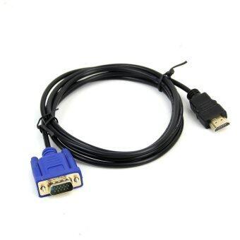 HDMI เคเบิลแบบ vga กับอะแดปเตอร์วิดีโอสำหรับคอมพิวเตอร์เข้ากับ hdtv