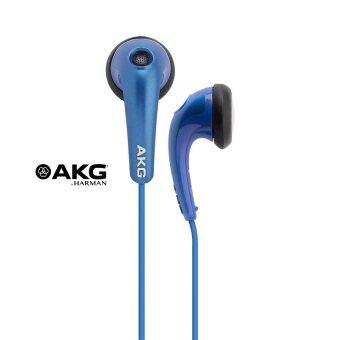 AKG Y15 Stereo Ear-Bud With Volume Control หูฟัง AKG สีน้ำเงิน รับประกันศูนย์