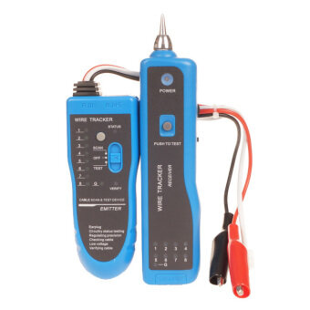 Harga RJ45 Wire Tracker Finder Tone Probe Kit 3km for Telephone wire, Network Wire, Electric Wire - intl