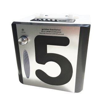 HTD ลำโพง MP3 รุ่น RX-i5 (สีเงิน)