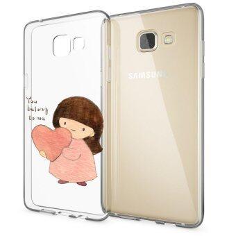 HugCase TPU เคส Samsung Galaxy A9 Proเคสโทรศัพท์พิมพ์ลาย You belong to me เนื้อบาง 0.3 mm