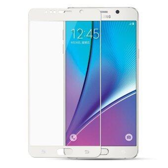 ครอบกันรอยหน้าจอแบบแก้วยามอารมณ์สำหรับ Samsung Galaxy Note 5 (ขาว)