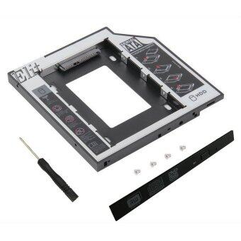 Elit ถาดแปลง ใส่ HDD SSD ในช่อง DVD Notebook 12.7 mm Universal SATA 2nd HDD SSD Hard Drive Caddy
