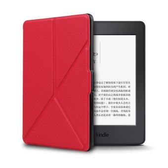 Harga Smart PU Cover for Amazon Kindle Voyage (Red)