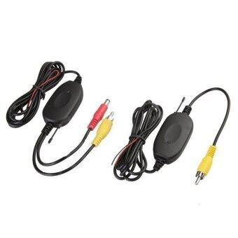 Mastersat ตัวต่อกล้องมองหลัง กับ มอนิเตอร์หน้ารถ แบบไร้สาย Wireless Transmitter & Receiver