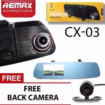 REMAX-DVR-CX-03-กล้องติดกระจกรถยนต์ มูลค่าของแถม1299บาท
