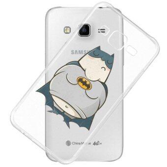 AFTERSHOCK TPU Case Samsung Galaxy J7 2016 (เคสใสพิมพ์ลาย Bad Boy Fat) / Thin 0.33 mm