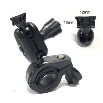 ขากล้องติดรถยนต์แบบยึดแกนกระจกมองหลังหัวสไลส์ล็อคขนาดหัว 12mm. x 12mm.