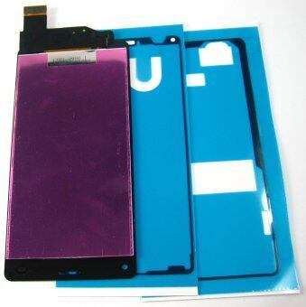 จอแสดงผลแอลซีดี+หน้าจอสัมผัสดิจิทัล+ยึดสำหรับ Sony Xperia Z3 คับ~สีดำ