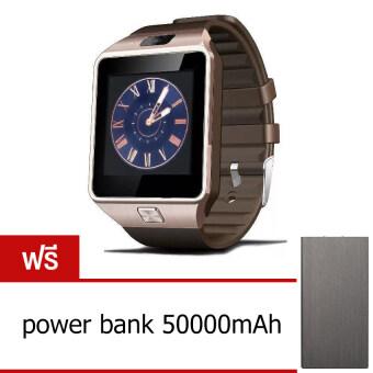 Smart Watch Z นาฬิกาโทรศัพท์ รุ่น A9 Phone Watch (Gold) ฟรี power bank 50000mAh