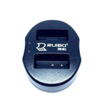 DUAL CHARGER LP-E17 แท่นชาร์จแบตกล้องแบบคู่ ชาร์จทีละ2ก้อน USB Dual Battery Charger for for Canon EOS Rebel T6i 750D T6s 760D M3 T6s 8000D Kiss X8i