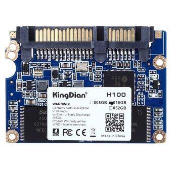 KingDian H100 SSD ขับสี่ช่องสถานะมั่นคง 4.57ซม SATA2 ฮาร์ดดิสก์สำหรับโน้ตบุ๊คสัมผัสร่างกายทั้งหมดในหนึ่ง (สีน้ำเงิน)